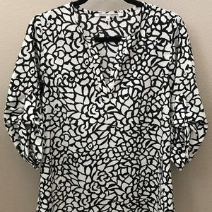 Collective Concepts 3/4 Sleeve Blouse